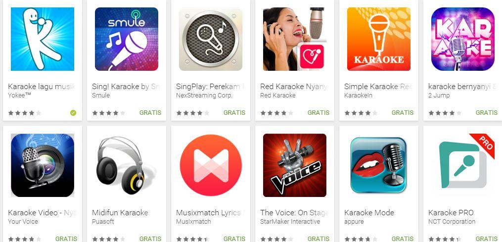 Aplikasi Karaoke Android terbaik tahun 2016