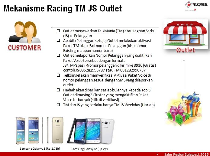 Telkomsel - Racing Talkmania dan Jagoan Serbu Tahun 2016