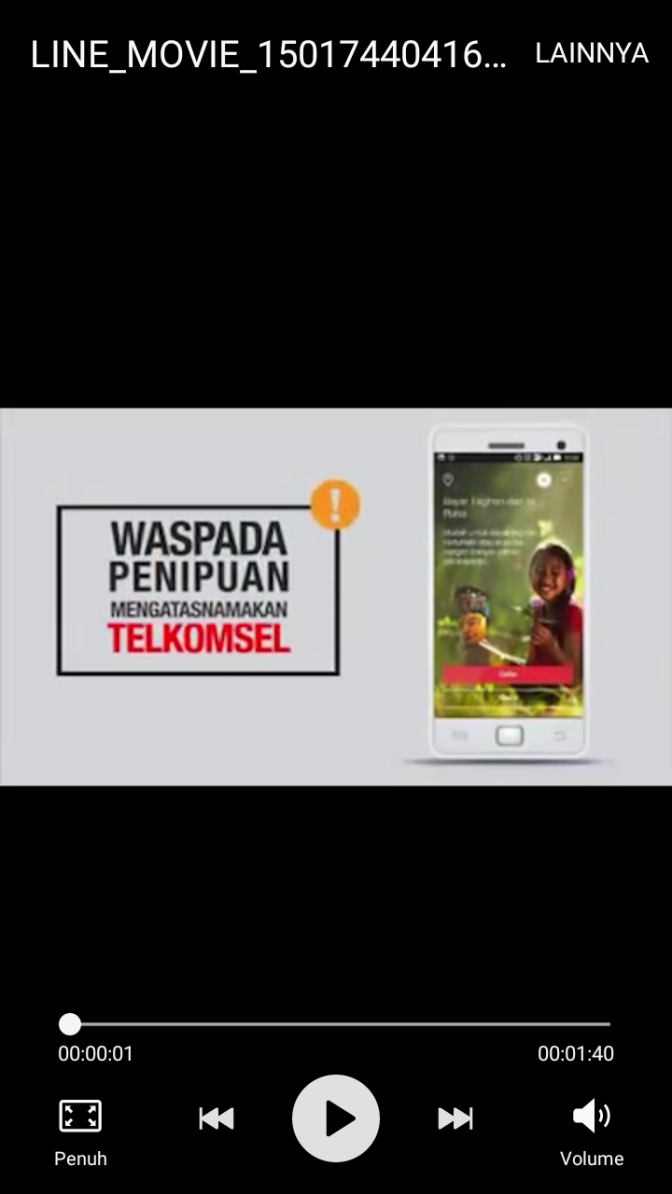 Tonton Video Tips Mengatasi Penipuan yang Mengatas Namakan Telkomsel